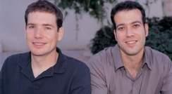 (l-r) Michael Kertesz and Dr. Eran Segal. Focus on targets