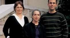(l-r) Prof. Tamar Flash, Dr. Talma Hendler and Eran Dayan. Setting the speed limit
