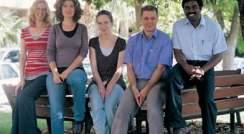 (l-r) Iris Margalit, Dr. Ilit Cohen-Ofri, Dr. Joanna Grzyb, Dr. Dror Noy and Dr. Jebasinga Tennyson. Custom-built proteins