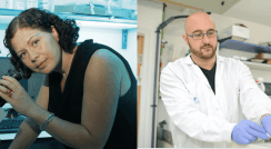 (l-r) Drs. Maya Schuldiner and Jacob Hanna