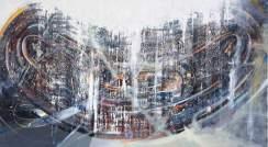 Altar | Oren Eliav. Oil on canvas, 145x260, 2010