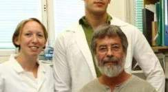 (l-r) Osnat Tirosh, Nir Fluman and Prof. Eitan Bibi