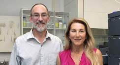 Bruce Lefker and Berta Strulovici