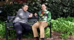 (l-r) Profs. Benjamin Geiger and Joachim Spatz