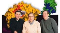 Dr. Gitay Kryger, Prof. Israel Silmam, and Prof. Joel Sussman
