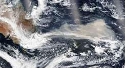 Smoke near Australia