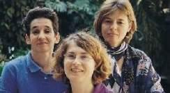 Left to right: Drs. Nili Avidan, Tzviya Olender and Edna Ben-Asher.