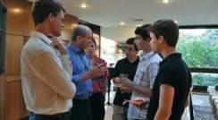 Weizmann Institute president greets International Science Summer Institute participants