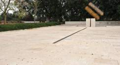 Memorial Plaza on the Weizmann Institute campus