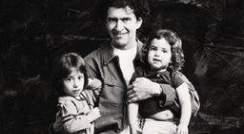 Prof. Amnon Horovitz with Li (4) and Ella (6)