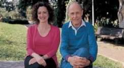 Profs. Karen Avraham and Yoram Groner.