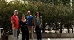 Prof. Ehud Shapiro, Dr. Rivka Adar, Adam Spiro and Noa Chapal-Ilani