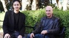 (l-r) Dr. Ofer Shoshani and Prof. Dov Zipori