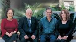 Judith Chebath, Prof. Michel Revel, Prof. Menachem Rubinstein and Dr. Daniela Novick