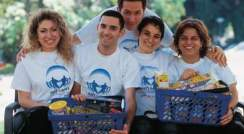 Nathalie Moyal Amsellem, Shahar Molshansky, Arnaud Amzallag, Sophie Snaper, and Oshrat Perets. A helping hand
