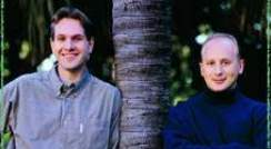 Prof. Jeffrey Gerst (left) and Michael Marash