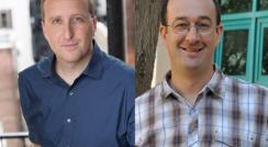 (l-r) Drs. Michael Yartsev and Nachum Ulanovsky