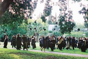 Feinberg Graduate School's annual graduation ceremony held on the Weizmann Institute