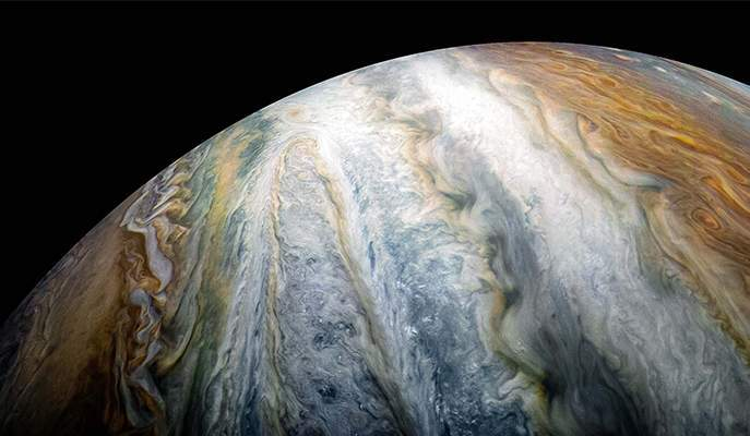 Jupiter_Juno image. NASA