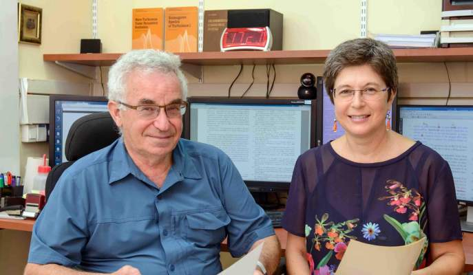 Prof. Victor L'vov and Dr. Anna Pomyalov