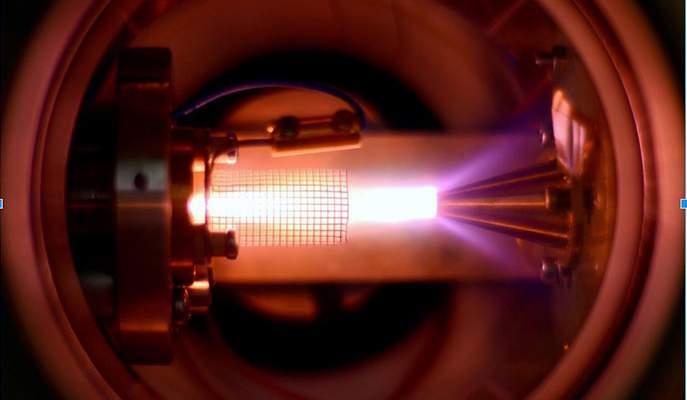 cold atomic beam experiment